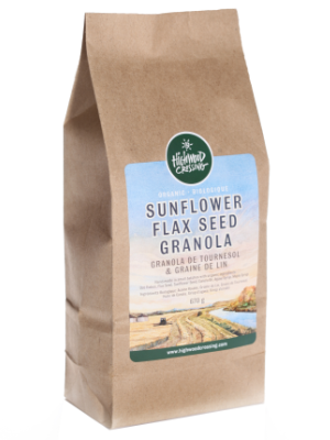 Organic Granola Sunflower Flax Seed