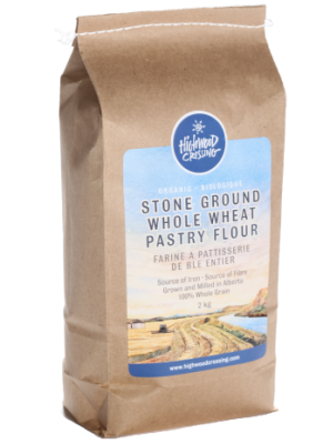 Organic Whole Wheat Pastry Flour in Canada -Highwood