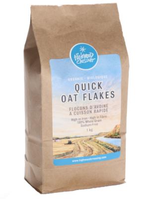Organic Quick Oat Flakes