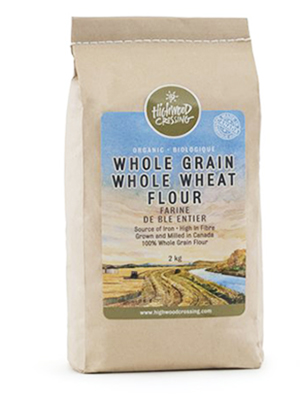 Organic Whole Grain Wheat Flour